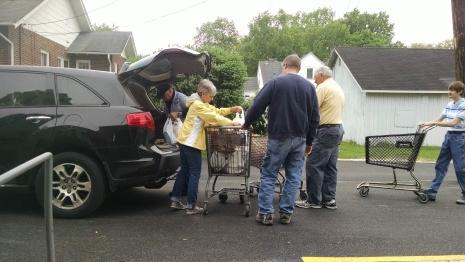 2018 Food Pantry Postal Food Drive2